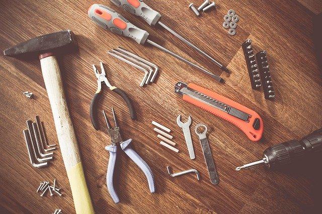 Różne pomoce budowlane